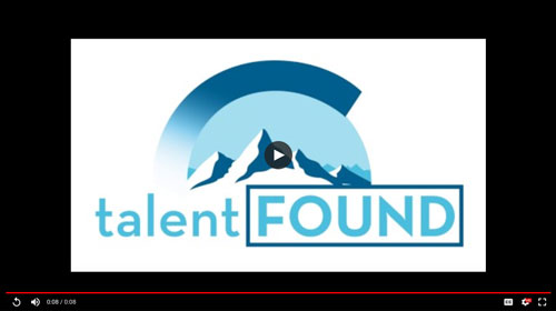 TalentFOUND Full Logo with Animation